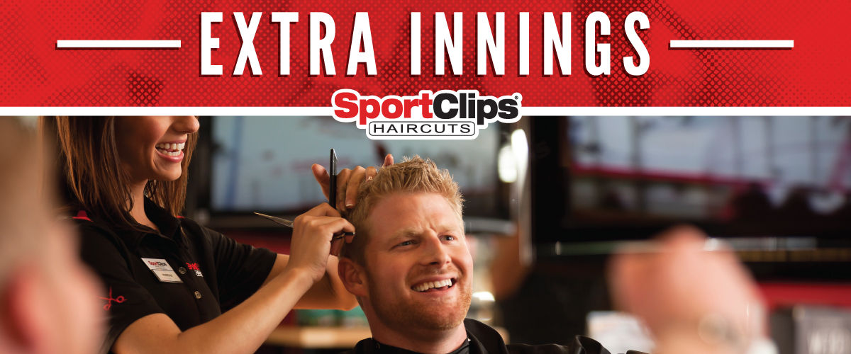 The Sport Clips Haircuts of Farmington Extra Innings Offerings